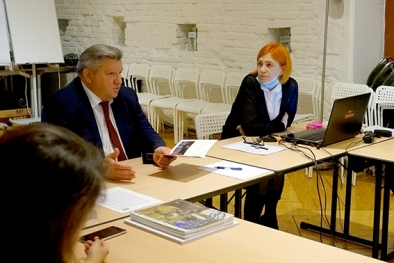 Visit of the Deputy Minister of Culture of the Russian Federation